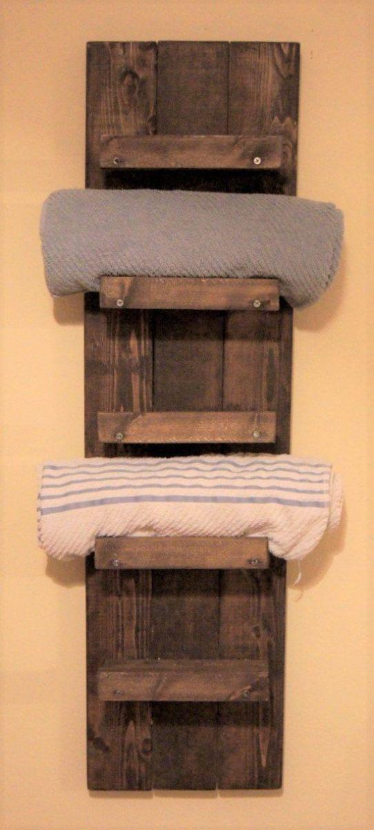 Bathroom Towel Shelf