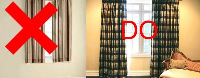 Bedroom Window Curtains