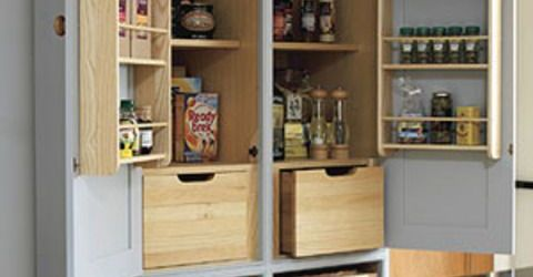 Free Standing Kitchen Pantry
