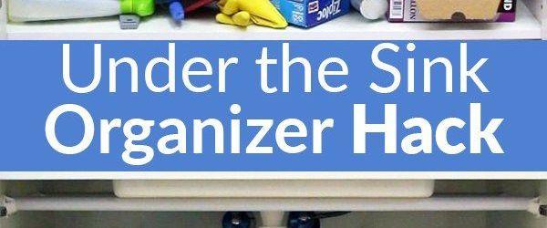Under Kitchen Sink Organizer