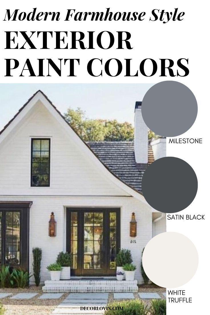 Farmhouse Exterior Colors