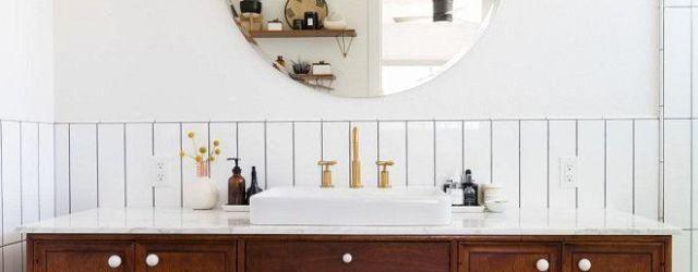 Mid Century Bathroom Vanity