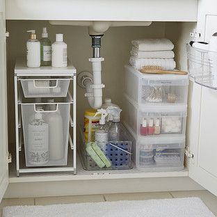 Bathroom Cabinet Organizer
