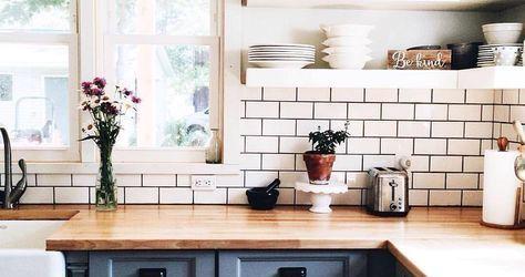 Butcher Block Kitchen Countertops