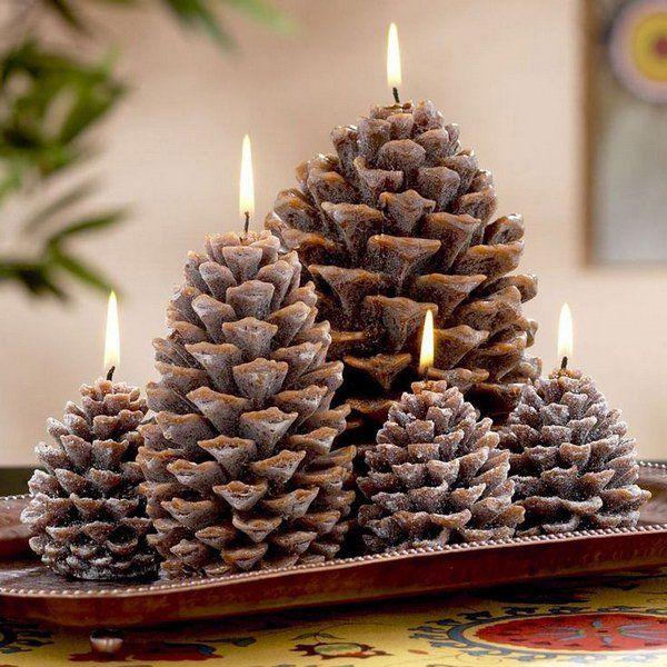 Home Decor Ideas With Pine Cones