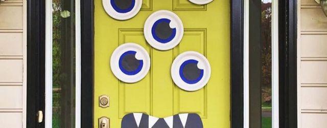 DIY Halloween Door Decorations