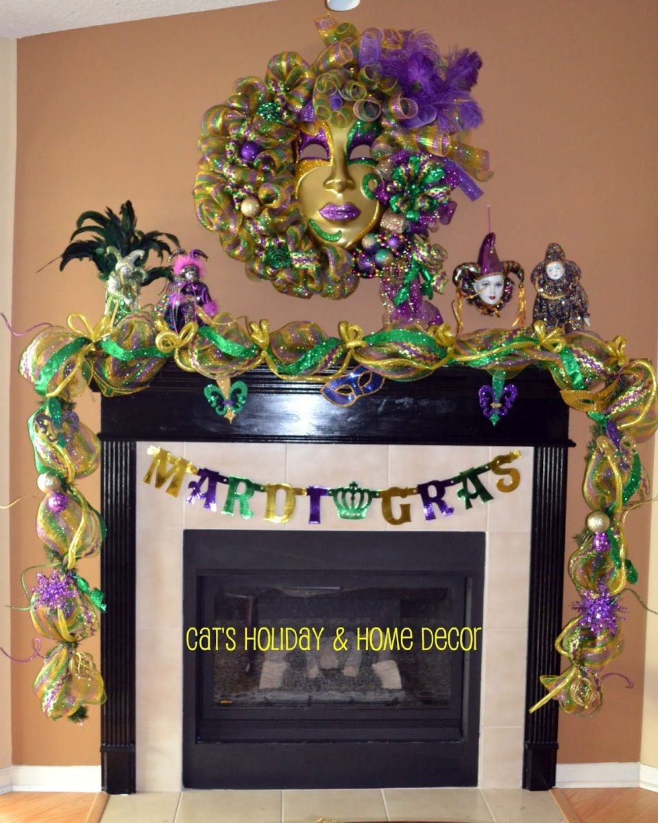 Mardi Gras Home Decor