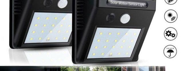 Led Solar Lights Outdoor