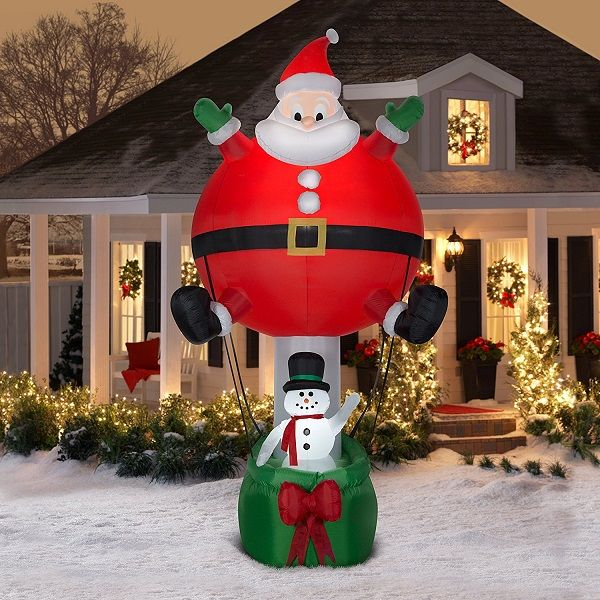 Blow Up Christmas Decorations
