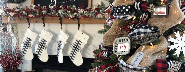 Buffalo Plaid Christmas Decor