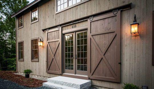 Exterior Sliding Barn Doors