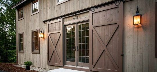 Exterior Sliding Barn Doors