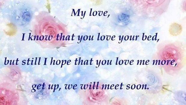 Good Morning Love Messages for Girlfriend English