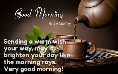 Amazing good morning card