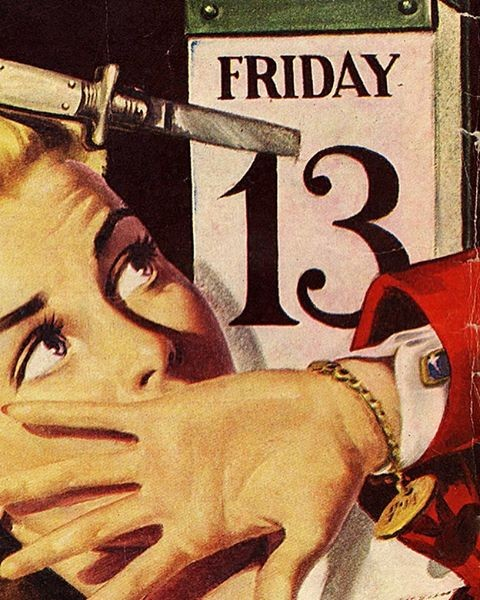 friday the 13th quotes on old poster