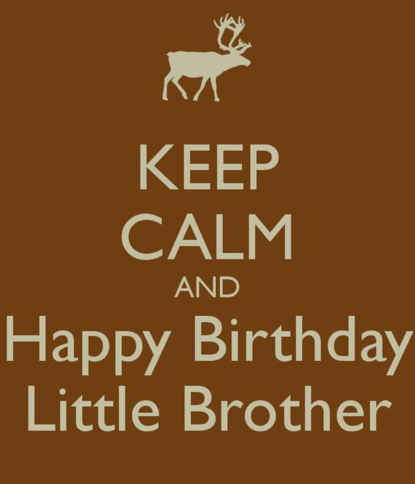 Happy Birthday Little Brother Images