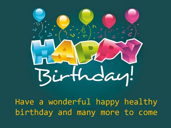 Inspirational Birthday Quotes And Wishes With Pictures Positive Happy Birthday Wishes