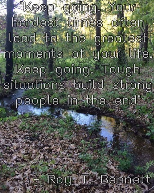 Fantastic Great Quotes about Going through Hard Times and Staying Strong