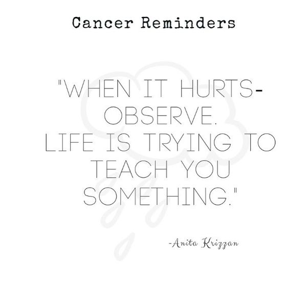 Funny Quotes about Staying Strong Through Cancer with Deep Sense