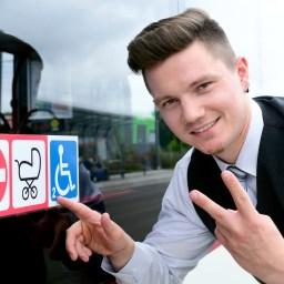 EVAG-Busfahrer aus Leidenschaft