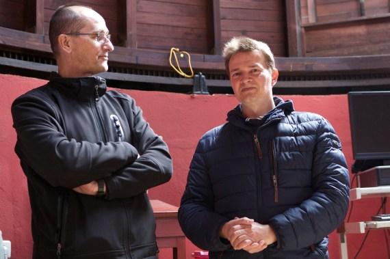 Axel Haubeis und Jan Lalek im Gespräch