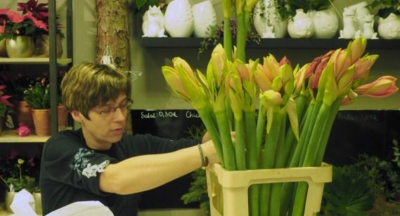 Das Floristikteam im real-Markt