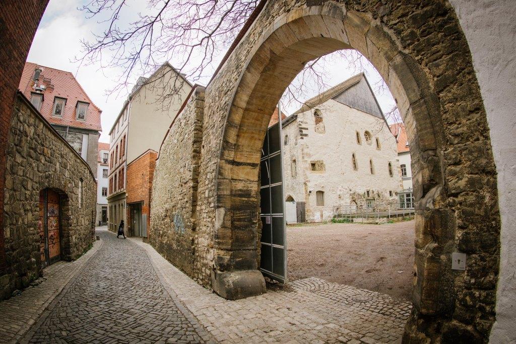 Alte Synagoge , Sonderausstellung , Gekommen um zu bleiben? Die zweite jŸdische Gemeinde in Erfurt 1354 Ð 1454
