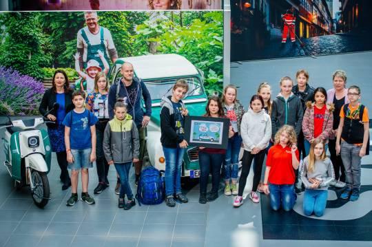 Glückwunsch auch an die 6c von der Gemeinschaftsschule am Nordpark für Platz 3.
