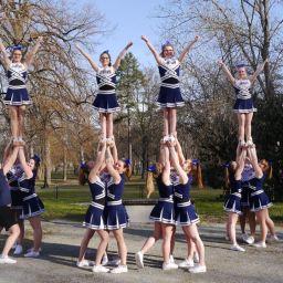 """Ich bin Cheerleader bei den """"Indigo Swans"""""""