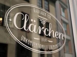 Clärchen Erfurt - Kaufladen für unkonventionelle Lebensmittel