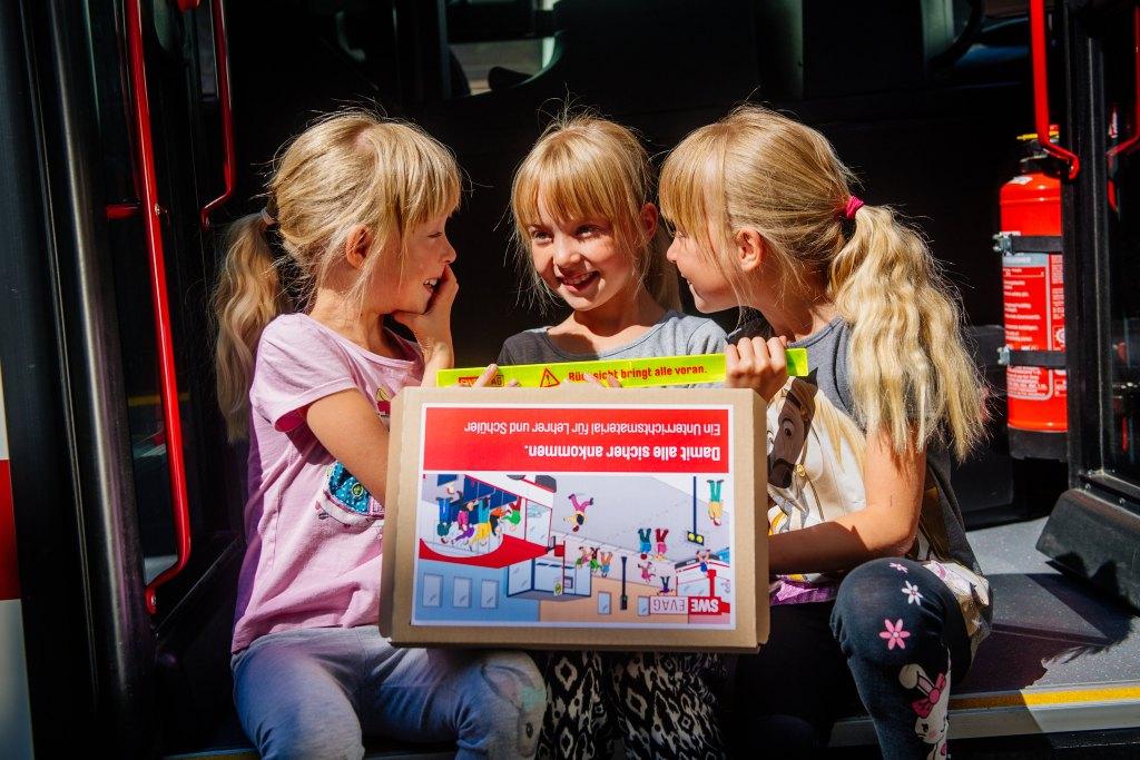 Schulbusbegleiter der Erfurter Verkehrsbetriebe AG