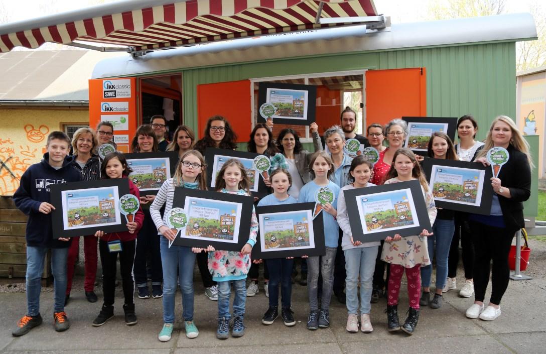 Gewinnerpräsentation Schulgarten
