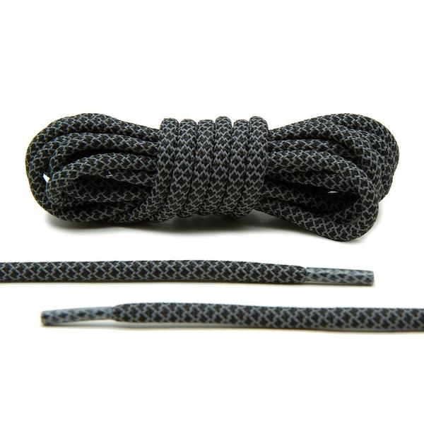 3MM Reflective Rope Laces Black