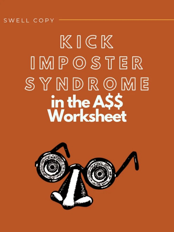 what is the imposter syndrome worksheet