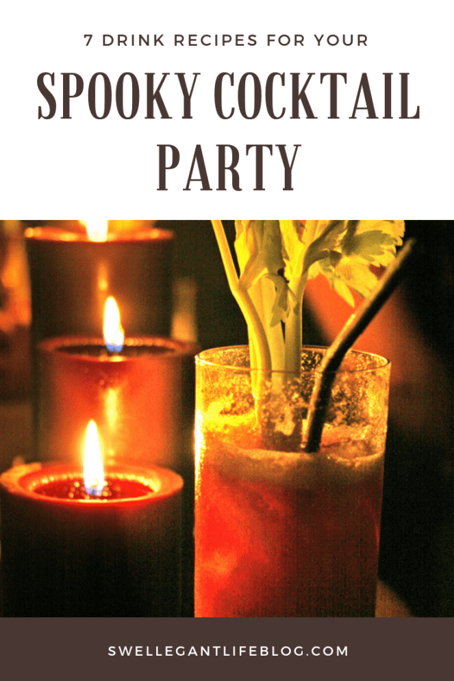 spooky cocktails for your halloween party