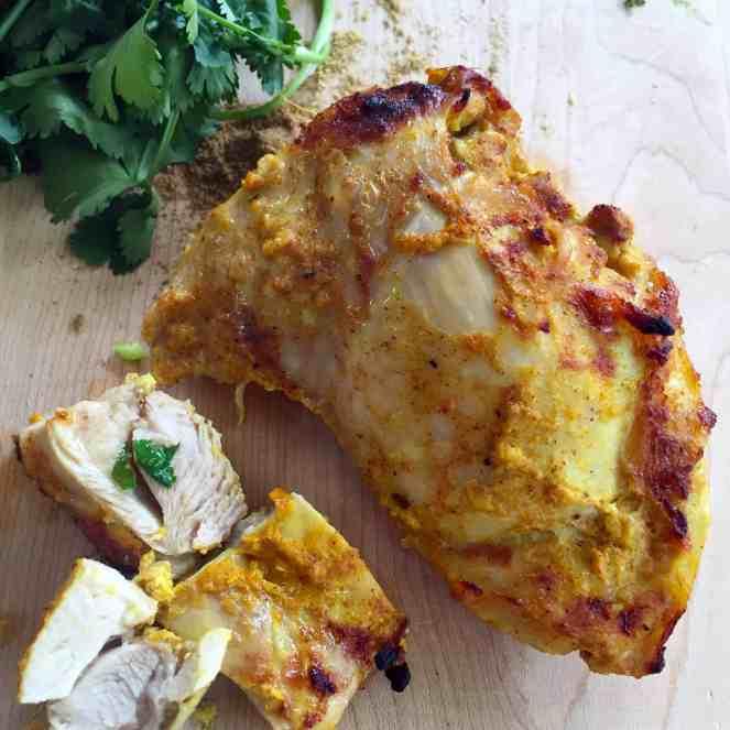 The Toss of a Lemon Menu - Tandoori Chicken