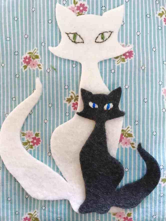 Good Mews cat appliqué
