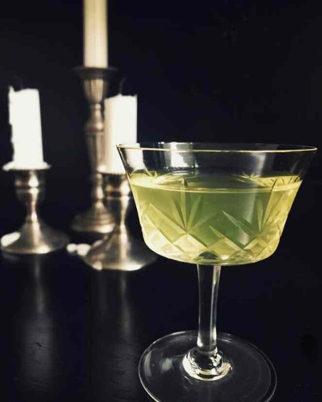 Festive holiday cocktails  - Ben Franklin's Milk Punch