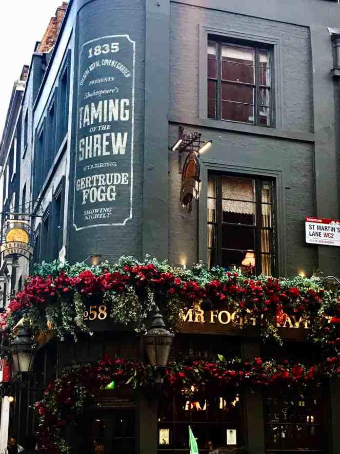 Mr Fogg Tavern London Old English Pub