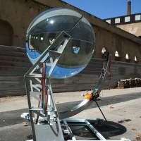 The Spherical Solar Glass Energy Generator