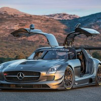 The Mercedes-Benz SLS AMG GT3 45th Anniversary Edition