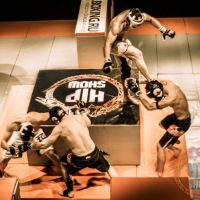 VIDEO: Crazy Russian MMA - 2 vs 2 in an OBSTACLE arena!