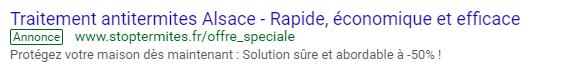 localisation google adwords