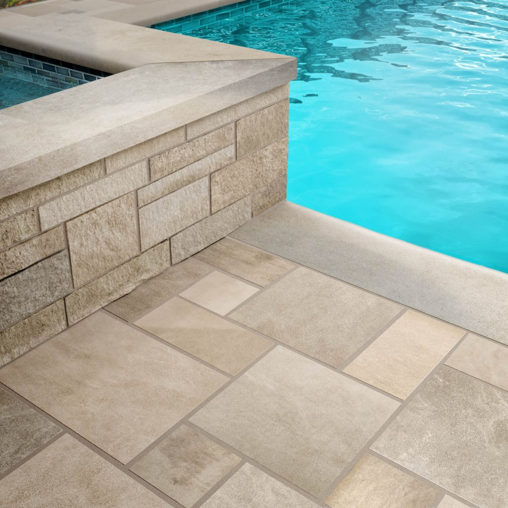 full color blend indiana limestone
