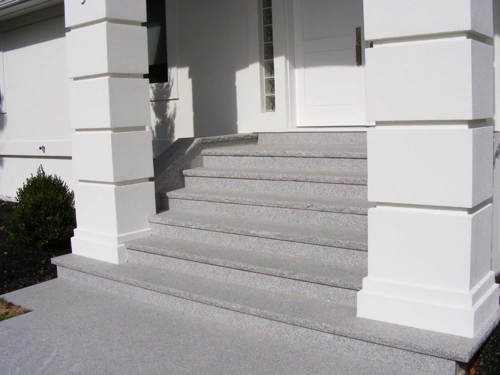Steps And Treads Swenson American Granite Products | Black Granite Staircase Designs | India Staircase | Contemporary | Italian Marble Step | Double Staircase | Wood Girl