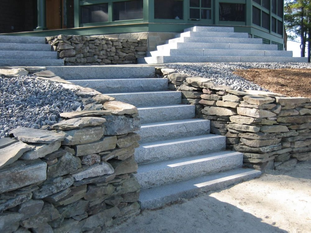Steps And Treads Swenson American Granite Products | Stone Treads For Outdoor Steps | Marble | Granite | Non Slip | Flagstone | Bluestone Treads