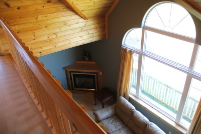 Living room (view from second floor)