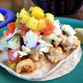 Coconut's Fish Tacos
