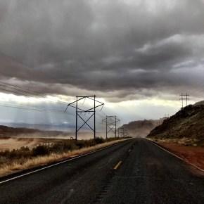 When a Sunday Storm Rolls Through Moab
