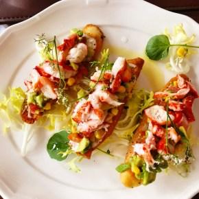 Lobster Crostini
